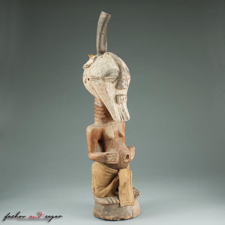 Songye Kifwebe Nkisi Figure